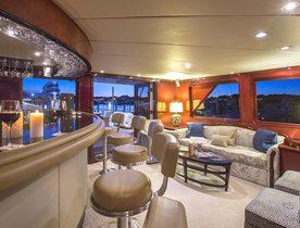 Luxury Motor Yacht 'SWEET ESCAPE' Cruising in the Caribbean