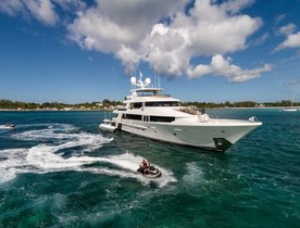 Westport luxury yacht W joins the charter fleet