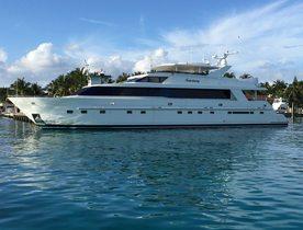 Motor Yacht SANCTUARY Joins Global Charter Fleet in the Bahamas