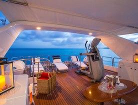 Superyacht 'CAMARINA ROYALE' Available in Virgin Islands