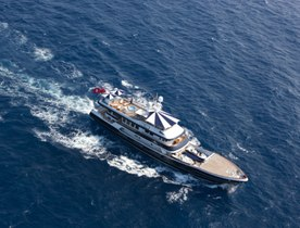 Expedition Yacht 'The Mercy Boys' Attending the Mediterranean Yacht Show