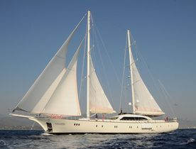 Sailing Yacht ALESSANDRO On The Move in May