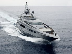 AUSPICIOUS Charter Yacht New to the Market