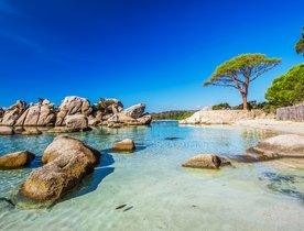 9 of the best white sand beaches to visit on a Corsica yacht charter