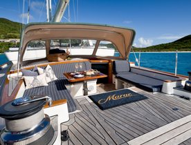 33m sailing yacht MARAE: Special charter offer for New England