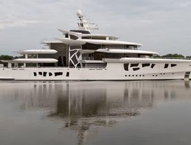 80m superyacht ARTEFACT delivered by Nobiskrug
