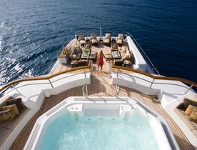 Feadship superyacht UTOPIA undergoing refit ahead of summer charter season