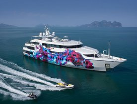 Superyacht SALUZI reduces charter rate by 20% in South East Asia
