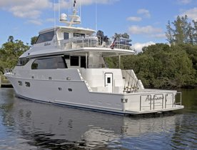 M/Y ANDIAMO Offering Yacht Charters in Bimini with No Delivery Fees