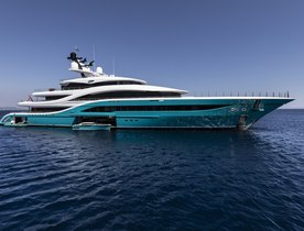 Brand new 77m Turquoise superyacht GO to debut at Monaco Yacht Show 2018