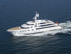 74m Lurssen Superyacht AURORA Delivered