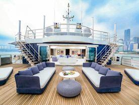 Escape to Mediterranean Hotspots for Less Aboard Superyacht SALUZI