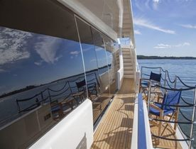 Brand New Motor Yacht ALANDREA Joins Caribbean Charter Fleet