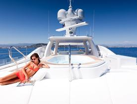 Amels Superyacht 'Step One' Joins Global Charter Fleet
