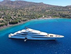 First look: Inside 94m charter yacht O'PARI