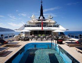 Celebrate the holidays aboard Oceanco's 81m superyacht 'Alfa Nero'