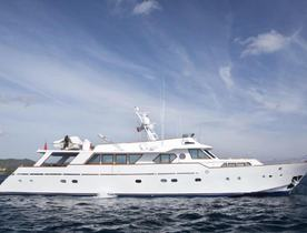Motor Yacht LIBERTUS Open for Late June Charters in Sicily