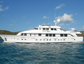 Luxury Motor Yacht 'SWEET ESCAPE' Cruising in the Caribbean