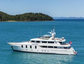 Charter Motor Yacht SILENTWORLD in Fiji and Sydney
