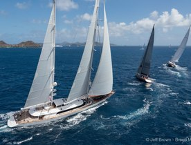 Charter yachts prepare for St Barths Bucket 2018