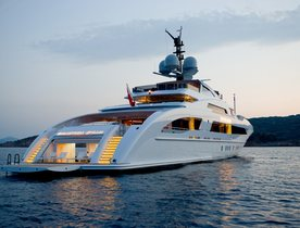 'Galactica Star' renamed ILLUSION and available for Caribbean yacht charters