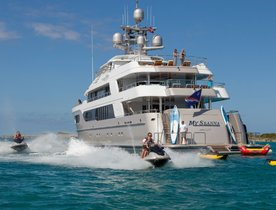 Superyacht 'My Seanna' Open For Monaco Grand Prix Charter