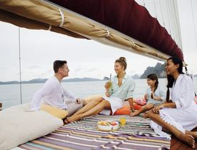 Escape to Thailand On Board Sailing Yacht 'Orient Pearl'