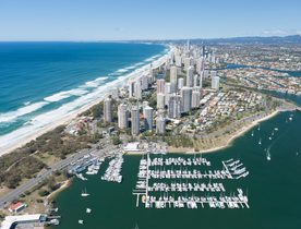 Superyachts Inundate Gold Coast for 2018 Commonwealth Games