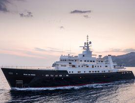 72m superyacht 'Bleu De Nimes' joins yacht charter fleet after huge four year refit