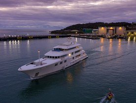 Charter yacht 'Lady E' to undergo intensive refit and six metre extension