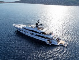 Luxury charter yacht SAMURAI to make world debut at Monaco Yacht Show 2019