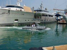 Superyacht EXUMA Wows at the Singapore Yacht Show