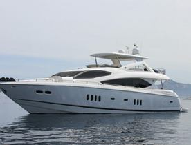 New Charter Rates on M/Y JUSTENI