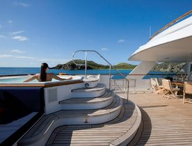 Motor Yacht AUDACIA Available in the Caribbean this Winter