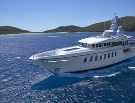 Feadship superyacht GLADIATOR joins global charter fleet