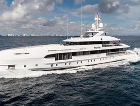 Superyacht HOME available for Caribbean yacht charters