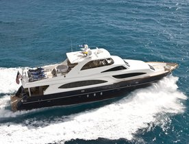 Motor Yacht LIMITLESS Open For Valentine's Day Charter In The British Virgin Islands