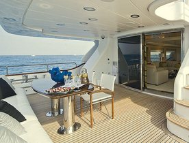 Special Offer on Motor Yacht SALU in Southern Italy