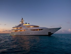 Superyacht OASIS Available for Valentine's Day Charter in the Caribbean
