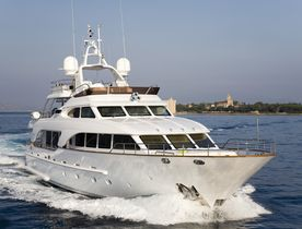 Superyacht SALU has Charter Gap in Turkey