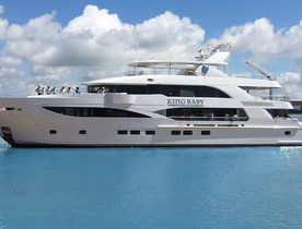 Motor yacht 'King Baby' Enters Charter Market