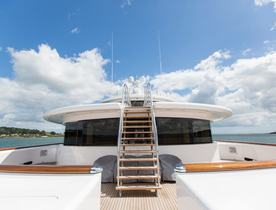 A Sneak Preview Of Charter Yacht AQUILA's Pendennis Refit