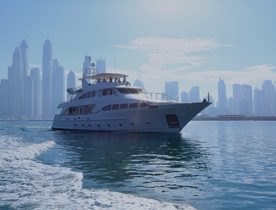 Explore the Arabian Gulf and Oman on Benetti superyacht DXB
