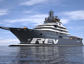 In conversation with the interior designer of REV, the world's largest yacht