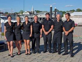 Charter Yacht 'Far Niente' Offers Award-Winning Dining Experience
