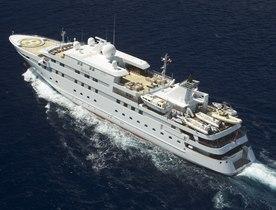 Superyacht 'Lauren L' Open in July for Italian Charter