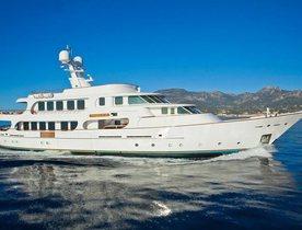 'PAMELA V' yacht new to Charter Fleet