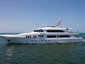 Superyacht 'Just Enough' has Charter Gap in Antigua