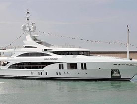 New Charter Yacht 'OCEAN PARADISE' to Debut at Monaco Yacht Show