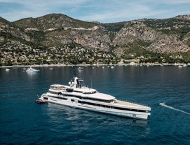 Feadship charter yacht 'Lady S' to make show debut at 2019 Monaco Yacht Show